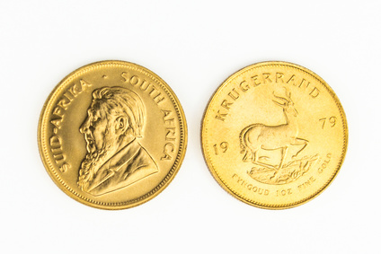 Moneta Krugerrand del Sud Africa