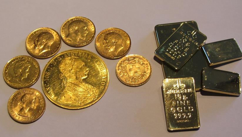 Nuovo servizio monete e lingotti