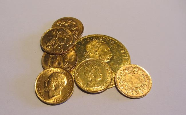 Valutazione monete d'oro